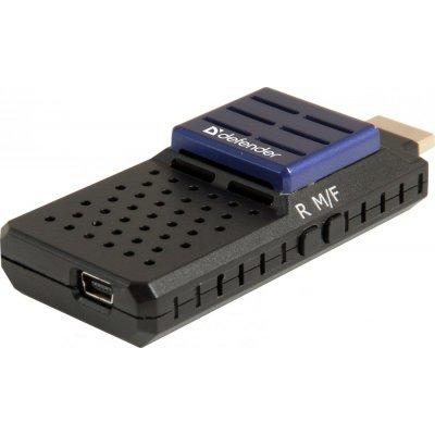 Медиаплеер Defender Smart Transmitter X1 (64313)Медиаплееры Defender<br>медиаплеер без жесткого диска<br>поддержка 1080p (Full HD)<br>воспроизведение MKV, FLAC, APE<br>интерфейс HDMI 1.4<br>подключение к сети по Wi-Fi<br>управление со смартфона<br>
