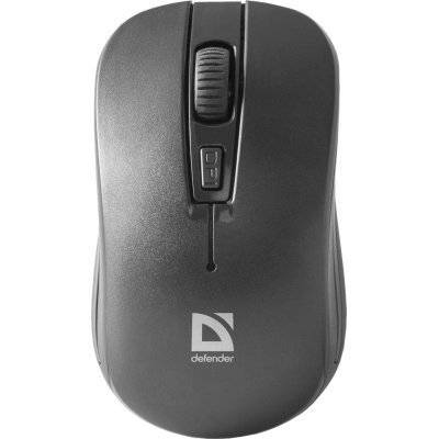 Мышь Defender Datum MS-005 черный (52005)Мыши Defender<br>Беспроводная оптическая мышь DEFENDER Datum MS-005 черный,3 кнопки,1200dpi<br>