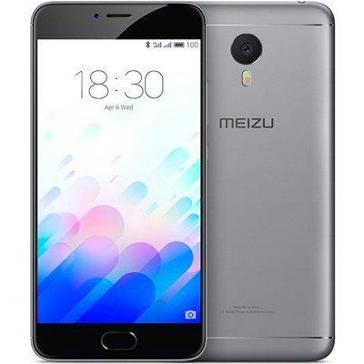 Смартфон Meizu M3 Note 3Ram 32Gb серый/черный (L681H-32-GR)Смартфоны Meizu<br>Смартфон Meizu M3 Note DS 5,5(1920x1080) LTE Cam(13/5) MT6755 1,8ГГц(8) (3/32)Гб microSD 128Гб A5.1 4100мАч Серый/Черный MZU-M681H-32-GB<br>
