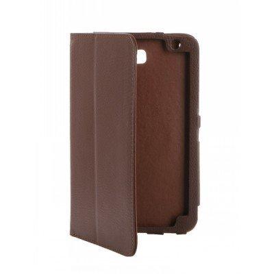 Чехол для планшета IT Baggage для Huawei Media Pad T1 7 коричневый (ITHWT1702-2) (ITHWT1702-2)Чехлы для планшетов IT Baggage<br>Чехол IT BAGGAGE для планшета Huawei Media Pad T1 7 коричневый ITHWT1702-2<br>