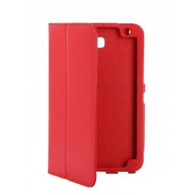 Чехол для планшета IT Baggage для Huawei Media Pad T1 7 красный ITHWT1702-3 (ITHWT1702-3)Чехлы для планшетов IT Baggage<br>Чехол IT BAGGAGE для планшета Huawei Media Pad T1 7 красный ITHWT1702-3<br>