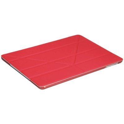 Чехол для планшета IT Baggage для iPad Air 2 9.7 ITIPAD25-3 (ITIPAD25-3)Чехлы для планшетов IT Baggage<br>Чехол IT BAGGAGE для планшета iPad Air 2 9.7 hard case искус. кожа красный с тонированной задней сте<br>
