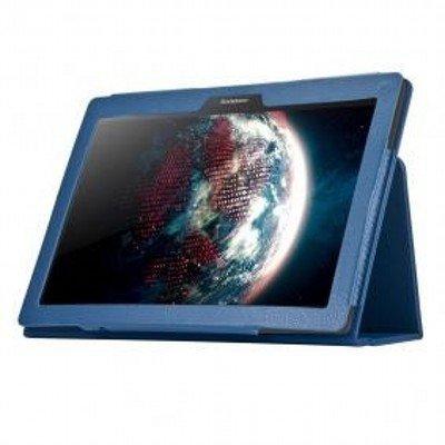 Чехол для планшета IT Baggage для LENOVO IdeaTab 2 A10-70 10 синий ITLN2A102-4 (ITLN2A102-4) чехол для lenovo ideatab 2 a10 70l g case executive эко кожа синий темный