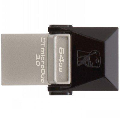 USB накопитель Kingston DTDUO3/64GB (DTDUO3/64GB)USB накопители Kingston<br>Внешний накопитель 64GB USB Drive &amp;lt;USB 3.0&amp;gt; Kingston DTDUO3 (DTDUO3/64GB)<br>