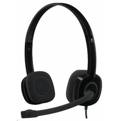 Компьютерная гарнитура Logitech Stereo Headset H151 (981-000589)Компьютерные гарнитуры Logitech<br>(981-000589) Гарнитура Logitech Stereo Headset H151<br>