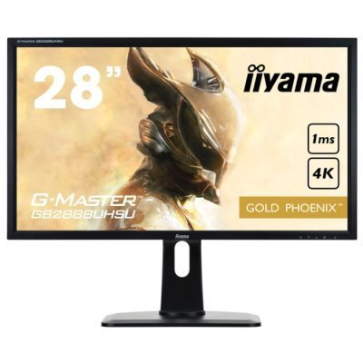 Монитор IIYAMA 28 GB2888UHSU-B1 (GB2888UHSU-B1) монитор iiyama xub3490wqsu b1 черный
