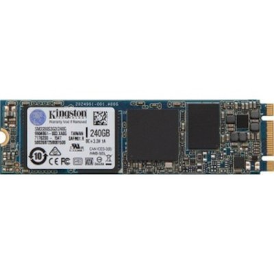 Накопитель SSD Kingston SM2280S3G2/240G 240Gb (SM2280S3G2/240G) жесткий диск 240gb sandisk ssd plus sdssda 240g g26