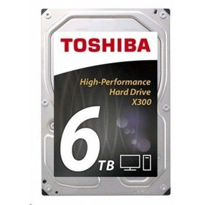 Жесткий диск ПК Toshiba HDWE160EZSTA 6Tb (HDWE160EZSTA) внешний жесткий диск lacie stet2000400 porsche design 2tb серебристый stet2000400
