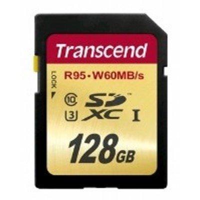 Карта памяти Transcend 128Gb SDXC Class 10 TS128GSDU3 (TS128GSDU3) карта памяти kingston 128gb sdhc class 10 sd10vg2 128gb sd10vg2 128gb