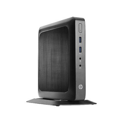 Тонкий клиент HP Flexible t520 (J9A90EA) (J9A90EA)Тонкие клиенты HP<br>Тонкий Клиент HP Flexible t520 GX-212JC (1.2)/4Gb/SSD32Gb/HD/Windows 10/GbitEth/клавиатура/черный<br>