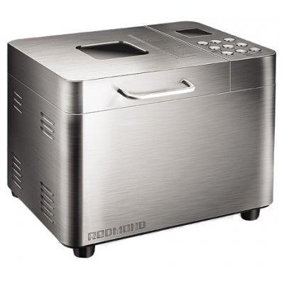 Хлебопечь Redmond RBM-M1910 (RBM-M1910)Хлебопечи Redmond<br>хлебопечка<br>вес выпечки 1000 г<br>вес выпечки регулируется<br>выпечка в форме буханки<br>выбор цвета корочки<br>25 автоматических программ<br>пользовательский режим<br>быстрая выпечка<br>варка джема<br>