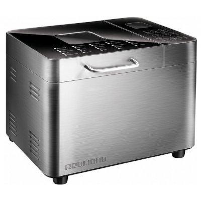 Хлебопечь Redmond RBM-M1919 (RBM-M1919)Хлебопечи Redmond<br>хлебопечка<br>вес выпечки 1000 г<br>вес выпечки регулируется<br>выпечка в форме буханки<br>выбор цвета корочки<br>25 автоматических программ<br>пользовательский режим<br>быстрая выпечка<br>варка джема<br>