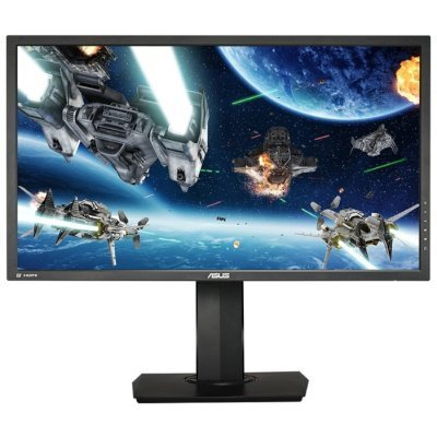 Монитор ASUS 28 MG28UQ (90LM027C-B01170)Мониторы ASUS<br>Монитор Asus 28 MG28UQ черный TN LED 16:9 HDMI M/M матовая HAS Pivot 330cd 3840x2160 DisplayPort Ultra HD USB 8кг<br>