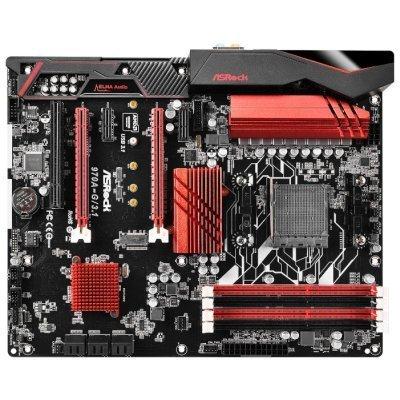 Материнская плата ПК ASRock 970A-G/3.1 (970A-G/3.1)Материнские платы ПК ASRock<br>Мат. плата ASRock 970A-G/3.1 &amp;lt;SAM3+, AMD 970 + SB950, 4*DDR3, 2*PCI-E16x, SATA III + RAID, GB Lan, U<br>