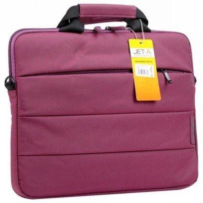 Сумка для ноутбука Jet.A LB13-25 (LB13-25)Сумки для ноутбуков Jet.A<br>Сумка для ноутбука Jet.A LB13-25 до 13,4 (Пурпурный, компактная, изящная, для тонких ( Mac B Air 13<br>
