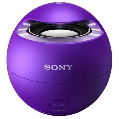 Портативная акустика Sony SRS-X1 фиолетовый (SRSX1V.RU2) колонки sony srs x1v mono фиолетовый 5вт беспроводные bt