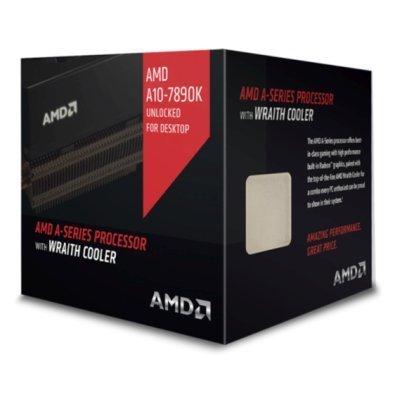 Процессор AMD A10-7890K Godavari (FM2+, L2 4096Kb) BOX (AD789KXDJCHBX)