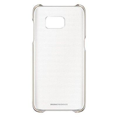 Чехол для смартфона Samsung для Galaxy S7 edge Clear Cover золотистый/прозрачный (EF-QG935CFEGRU) (EF-QG935CFEGRU) чехол samsung ef qg570ttegru для samsung galaxy j5 prime clear cover прозрачный