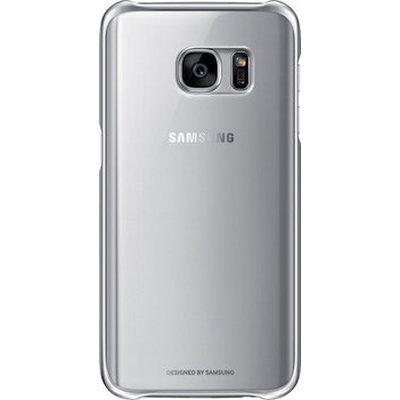 Чехол для смартфона Samsung для Galaxy S7 Clear Cover серебристый/прозрачный (EF-QG930CSEGRU) (EF-QG930CSEGRU)Чехлы для смартфонов Samsung<br>Чехол (клип-кейс) Samsung для Samsung Galaxy S7 Clear Cover серебристый/прозрачный (EF-QG930CSEGRU)<br>