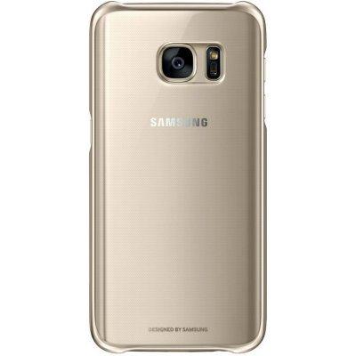 Чехол для смартфона Samsung для Galaxy S7 Clear Cover золотистый/прозрачный (EF-QG930CFEGRU) (EF-QG930CFEGRU)