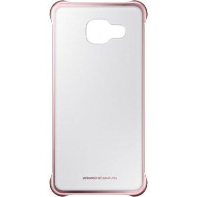 Чехол для смартфона Samsung для Galaxy A3 (2016) Clear Cover розовое золото/прозрачный (EF-QA310CZEGRU) (EF-QA310CZEGRU)Чехлы для смартфонов Samsung<br>Чехол (клип-кейс) Samsung для Samsung Galaxy A3 (2016) Clear Cover розовое золото/прозрачный (EF-QA310CZEGRU)<br>