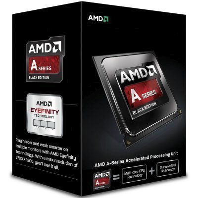 Процессор AMD A6-7470K Godavari (FM2+, L2 1024Kb) BOX (AD747KYBJCBOX)Процессоры AMD <br>Процессор AMD A6 7470K FM2+ (AD747KYBJCBOX) (3.7GHz/AMD Radeon R5) Box<br>