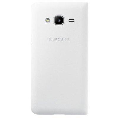 Чехол для смартфона Samsung для Galaxy J3 Flip Wallet белый (EF-WJ320PWEGRU) (EF-WJ320PWEGRU)