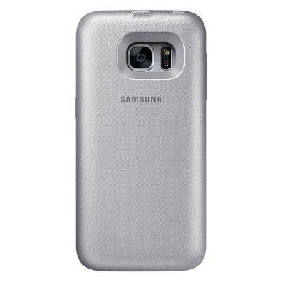 Чехол для смартфона Samsung для Galaxy S7 Backpack серебристый (EP-TG930BSRGRU) (EP-TG930BSRGRU) samsung ep tg930 backpack чехол аккумулятор для galaxy s7 black