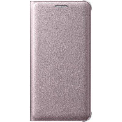 Чехол для смартфона Samsung для Galaxy A3 (2016) Flip Wallet розовое золото (EF-WA310PZEGRU) (EF-WA310PZEGRU)