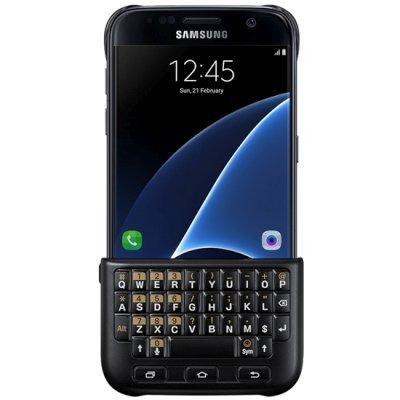 Чехол для смартфона Samsung для Galaxy S7 Keyboard Cover черный (EJ-CG930UBEGRU) (EJ-CG930UBEGRU) new for samsung np770z5e 780z5e np780z5e np880z5e 670z5e english keyboard silver with palmrest cover us ba75 04690a