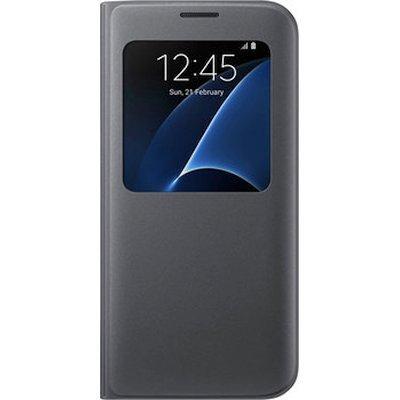 все цены на Чехол для смартфона Samsung для Galaxy S7 edge S View Cover черный (EF-CG935PBEGRU) (EF-CG935PBEGRU) онлайн