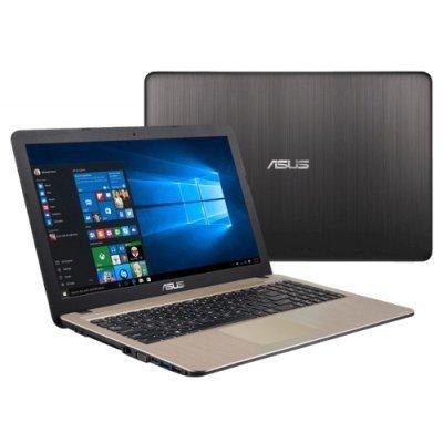 Ноутбук ASUS R540Sa (90NB0B31-M00840) (90NB0B31-M00840)Ноутбуки ASUS<br>Ноутбук Asus R540Sa Celeron N3050 (1.6)/2G/500G/15.6 HD GL/Int:Intel HD/BT/Win10 Chocolate Black<br>