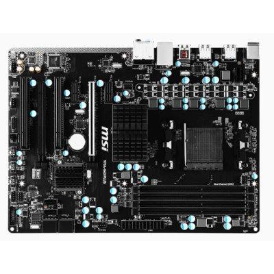 Материнская плата ПК MSI 970A-G43 PLUS (970A-G43 PLUS)Материнские платы ПК MSI<br>Мат. плата MSI 970A-G43 PLUS &amp;lt;SAM3+, AMD970GX, 4*DDR3, 2*PCI-E16x, SATA III, SATA RAID, USB 3.1, GB<br>