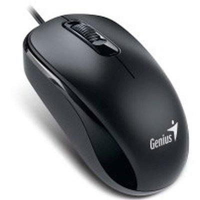 Мышь Genius DX-110 Black (DX-110 Black) мыши genius проводная оптическая мышь dx 130