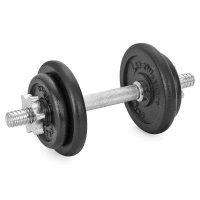 Гантель Lite Weights 9.43 кг х 1шт 4542LW (4542LW) гантель виниловая lite weights 0 5кг x 2шт