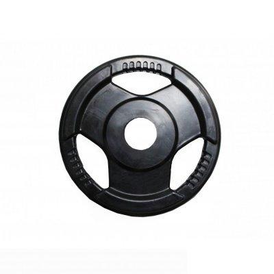 Блин для гантели и штанги Eurosport H-310 обрезин. черный с ручками d-31mm 15кг (H-310 обрезин. черный с ручками d-31mm 15кг) блин стальной с ручками 30 мм 15кг torneo 1022 150