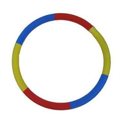 Обруч Eurosport Сделай талию (Сделай талию)Обручи Eurosport<br>Вид: гимнастический, утяжеленный Тип: неразборный Диаметр внешний: 90см Сечение: 7см Толщина: 8-9см Материал: поливинилхлорид Покрытие: трикотаж Наполнитель: песчаная смесь Вес: 2кг Цвет: комбинации из цветов - зеленый, синий, желтый, красный, голубой, розовый Страна-производитель: Россия Упаковка:  ...<br>