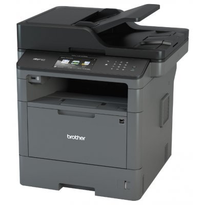 Монохромный лазерный МФУ Brother MFC-L5750DW (MFCL5750DWR1)Монохромные лазерные МФУ Brother<br>МФУ (принтер, сканер, копир, факс)<br>ч/б лазерная печать<br>до 40 стр/мин<br>макс. формат печати A4 (210 x 297 мм)<br>макс. размер отпечатка: 216 x 356 мм<br>цветной ЖК-дисплей<br>двусторонняя печать<br>автоподача оригиналов при сканировании<br>Wi-Fi, Ethernet<br>