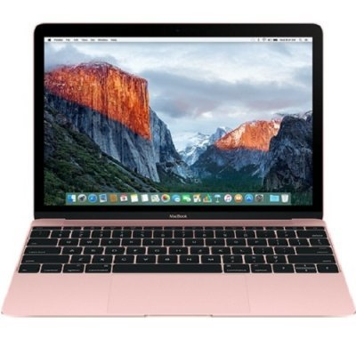 Ноутбук Apple MacBook 12 Rose Gold (MMGM2RU/A) (MMGM2RU/A) apple macbook 12 core m5 1 2 8 512ssd gold mlhf2ru a