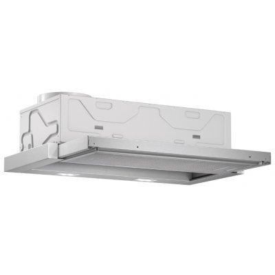 Вытяжка Bosch DFL064A51 (DFL064A51)Вытяжки Bosch<br>кухонная вытяжка<br>встраивается в навесной шкафчик<br>отвод / циркуляция<br>для стандартных кухонь<br>ширина для установки 60 см<br>мощность 76 Вт<br>электронное управление<br>тихий двигатель<br>