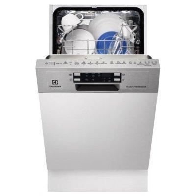 Посудомоечная машина Electrolux ESI4620RAX (ESI4620RAX)Посудомоечные машины Electrolux<br>напольная посудомоечная машина 44.60 см<br>встраиваемая частично<br>конденсационная сушка<br>расход воды 9.9 л<br>расход электричества 0.7 кВт·ч<br>дисплей<br>уровень шума при работе 46 дБ<br>полная защита от протечек<br>