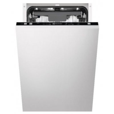 Посудомоечная машина Electrolux ESL9471LO (ESL9471LO)Посудомоечные машины Electrolux<br>напольная посудомоечная машина 45 см<br>встраиваемая полностью<br>конденсационная сушка<br>расход воды 9 л<br>расход электричества 0.83 кВт·ч<br>дисплей<br>уровень шума при работе 44 дБ<br>