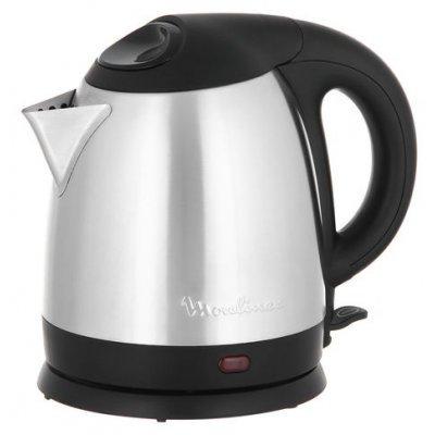 Электрический чайник Moulinex BY430D (BY430D)Электрические чайники Moulinex<br>чайник<br>объем 1.5 л<br>мощность 1500 Вт<br>закрытая спираль<br>установка на подставку в любом положении<br>стальной корпус<br>индикация включения<br>вес 0.9 кг<br>