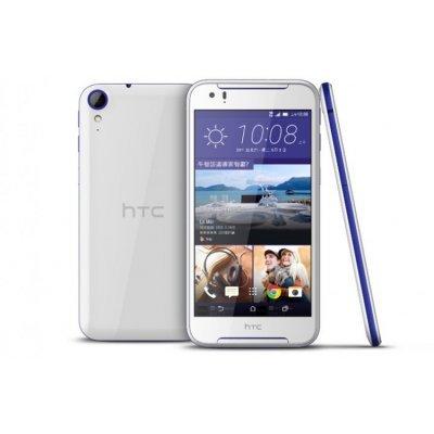 Смартфон HTC Desire 830 бело-синий (99HAJU032-00)Смартфоны HTC<br>5,5-дюймовый дисплей с разрешением 1920х1080 пикселей; восьмиядерный процессор Helio Х10; 3 ГБ оперативной памяти; 32 ГБ встроенной памяти; слот для карт памяти microSD объёмом до 128 ГБ<br>