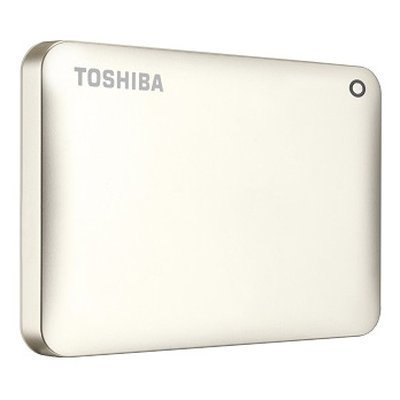 Внешний жесткий диск Toshiba HDTC830EC3CA 3Tb (HDTC830EC3CA)Внешние жесткие диски Toshiba<br>Внешний жесткий диск TOSHIBA HDTC830EC3CA Canvio Connect II 3000ГБ 2.5 USB 3.0 Gold<br>