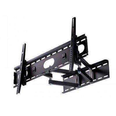 Кронштейн для ТВ и панелей настенный Rolsen RWM-240 15-60 черный (RWM-240)Кронштейн для ТВ и панелей Rolsen<br>Кронштейн для телевизора Rolsen RWM-240 черный 15-60 макс.75кг настенный поворот и наклон<br>