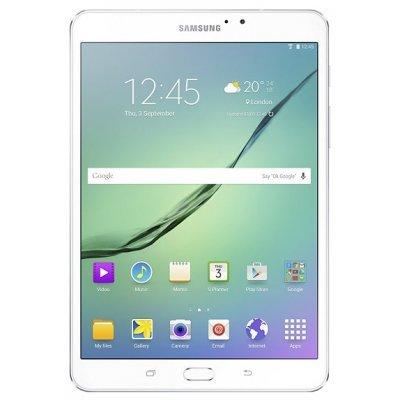 Планшетный ПК Samsung Galaxy Tab S2 8.0 SM-T719 LTE 32Gb белый (SM-T719NZWESER)Планшетные ПК Samsung<br>сенсорный экран, Multitouch, диагональ: 8 (20.32 см), разрешение: 2048x1536, поддержка 3G, поддержка 4G, Wi-Fi, Bluetooth, GPS, ГЛОНАСС, основная камера: 8Мп, фронтальная камера: 2.1Мп, fingerprint, объём встроенной памяти: 32Гб, операционная система: Android 6.0<br>