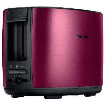 Тостер Philips HD2628/00 (HD2628/00)Тостеры Philips<br>тостер<br>на 2 тоста<br>мощность 950 Вт<br>механическое управление<br>функция размораживания<br>металлический прочный корпус<br>