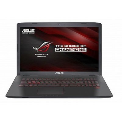 Ноутбук ASUS GL752VW (90NB0A42-M03070) (90NB0A42-M03070)Ноутбуки ASUS<br>i7-6700HQ 12Gb 2Tb + SSD 128Gb nV GTX960M 2Gb 17,3 FHD DVD(DL) BT Cam 3200мАч Win10 Серый 90NB0A42-M03070<br>