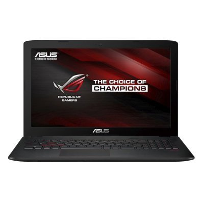 Ноутбук ASUS ROG GL552VW-CN479T (90NB09I3-M05660) (90NB09I3-M05660)Ноутбуки ASUS<br>15.6(1920x1080 (матовый))/Intel Core i7 6700HQ(2.6Ghz)/12288Mb/2000+128SSDGb/DVDrw/Ext:nVidia GeForce GTX960M(4096Mb)/Cam/BT/WiFi/50WHr/war 1y/2.6kg/black/W10<br>